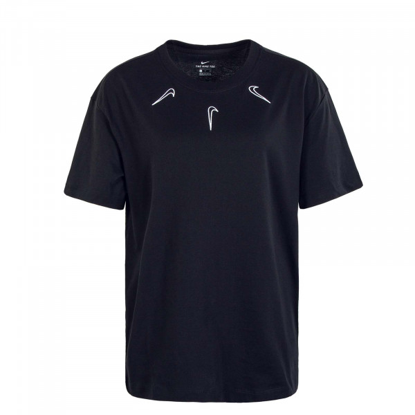 Damen T-Shirt Boy Mini Swoosh 2 Black