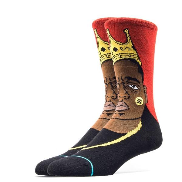 Stance Socks Notorious BIG Red Black