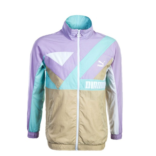 Puma Wind  Jkt X Diamond Purple Mint