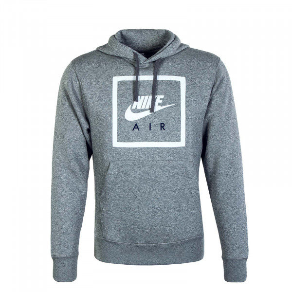 Herren Hoody Nike Air Grey White